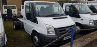 2008 FORD TRANSIT 100T 350 2.4TD  MWB CHASSIS CAB £4995.00