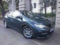 USED 2012 62 HONDA CIVIC 1.8 I-VTEC SE 5d 140 BHP ***FINANCE ARRANGED***PART EXCHANGE WELCOME***USB***AUX***6 SPEED***CLIMATE CONTROL***AIR CON***ECO MODE***