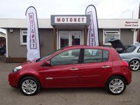 2010 RENAULT CLIO 1.6 INITIALE TOMTOM VVT 5DR  AUTOMATIC 110 BHP £4380.00