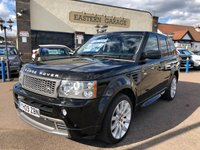 USED 2009 09 LAND ROVER RANGE ROVER SPORT 2.7 TDV6 STORMER EDITION 5d AUTO 188 BHP