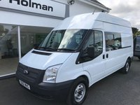 "2012 FORD TRANSIT T350 2.2 TDCi 125 LWB High Roof 5-Seater ""Messing Van"" £SOLD"
