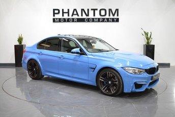 2015 BMW M3 3.0 M3 4d AUTO 426 BHP £34990.00