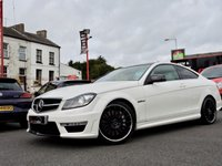 USED 2012 MERCEDES-BENZ C CLASS 6.2 C63 AMG EDITION 125 AUTO 457 BHP