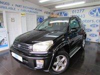 2003 TOYOTA RAV4 2.0 NRG VVT-I 3d 146 BHP £2500.00