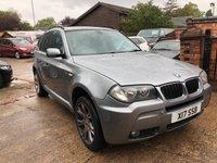 2008 BMW X3 20D M SPORT £5900.00