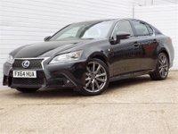 2014 LEXUS GS 3.5 450H F SPORT 4d AUTO 341 BHP £18989.00