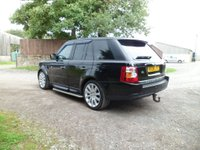 USED 2008 08 LAND ROVER RANGE ROVER SPORT 2.7 TDV6 SPORT S 5d AUTO 188 BHP SAT NAV. BLUETOOTH. REAR DVD PLAYERS. MUSIC STREAMING. EXCELLENT HISTORY