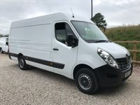 2015 RENAULT MASTER 2.3 DCI MML35 LWB RWD BUSINESS 125 BHP £10995.00