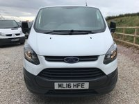 USED 2016 16 FORD TRANSIT CUSTOM 290 100PS SWB **VERY LOW MILES**