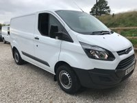 2016 FORD TRANSIT CUSTOM 290 100PS SWB **VERY LOW MILES** £11495.00