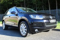 USED 2012 62 VOLKSWAGEN TOUAREG 3.0 V6 SE TDI BLUEMOTION TECHNOLOGY 5d AUTO 242 BHP A STUNNING TOUAREG WITH LOW OWNERS, GOOD MILES AND FULL HISTORY!!!
