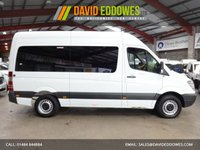 """USED 2012 12 MERCEDES-BENZ SPRINTER 2.1 313 CDI 13 SEAT MINIBUS TRAVELINER 129 BHP 5 SPEED AUTOMATIC-ONE OWNER-SERVICE HISTORY """"YOU'RE IN SAFE HANDS"""" - AA DEALER PROMISE"""