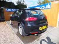 USED 2010 60 SEAT LEON 1.6 CR TDI S EMOCION 5d 103 BHP FSH X 5 STAMPS, AIR CON