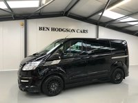 USED 2015 65 FORD TRANSIT CUSTOM 2.2 290 LIMITED M-SPORT CREW VAN 153 BHP