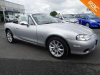 USED 2003 03 MAZDA MX-5 1.8 2dr WITH HARDTOP, FULL HISTORY