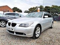 2006 BMW 5 SERIES 2.0 520D SE TOURING 5d 161 BHP £SOLD