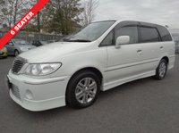 USED 2013 02 NISSAN LARGO 2.5 5dr PRIVACY GLASS, BODY KIT,