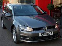 USED 2015 65 VOLKSWAGEN GOLF 1.6 TDI MATCH BLUEMOTION TECH 5d 110 S/S FRONT & REAR PARKING SENSORS WITH DISPLAY (PARK PILOT), ADAPTIVE CRUISE CONTROL (ACC), DAB RADIO, BLUETOOTH PHONE & MUSIC STREAMING, AUX & USB INPUTS, 16 INCH 5 SPOKE ALLOYS, GREY CLOTH INTERIOR, FRONT FOG LIGHTS, ELECTRIC HEATED FOLDING MIRRORS, LEATHER FLAT BOTTOM MULTI FUNCTION STEERING WHEEL, LIGHT & RAIN SENSORS WITH AUTO DIMMING REAR VIEW MIRROR, DRIVE SELECT, CD WITH SD CARD READER, AUTO HILL HOLD, AIR CONDITIONING, ISO FIX, FOLDING REAR SEATS, FRONT & REAR ARM RESTS, ELECTRIC WINDOWS