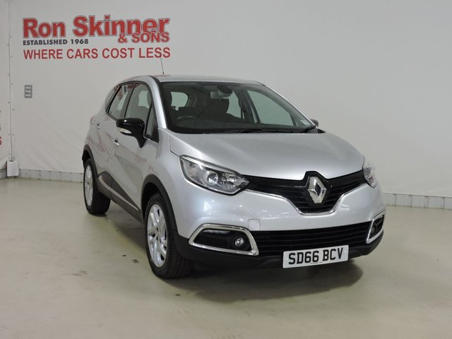 View our 2016 66 RENAULT CAPTUR (2)     1.5 DYNAMIQUE NAV DCI 5d 90 BHP