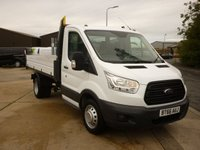 2016 FORD TRANSIT 2.2 350 C/C ONE WAY Tipper DRW  125 PS  £17195.00