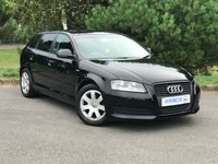 USED 2009 09 AUDI A3 1.9 TDI E 5d Full Leather S-Line Seats