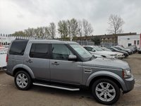 USED 2012 12 LAND ROVER DISCOVERY 4 3.0 SD V6 XS 4X4 5dr FULL MOT+SAT NAV+FULL LEATHER