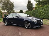 USED 2016 16 MERCEDES-BENZ CLS CLASS 2.1 CLS220 AMG Line (s/s) 4dr 1 OWNER+UNIQUE COMBO+WARRANTY+