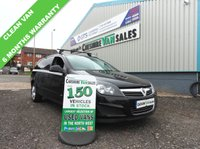 2012 VAUXHALL ASTRA 1.7 SPORTIVE CDTI  125 BHP FINISHED IN PANTHER BLACK, AIR CONDITIONING  £3995.00