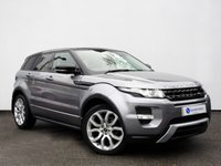 USED 2013 13 LAND ROVER RANGE ROVER EVOQUE 2.2 SD4 DYNAMIC 5d AUTO 190 BHP Satellite Navigation with Panoramic Glass Roof & Electric Tailgate......
