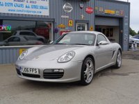 USED 2006 06 PORSCHE BOXSTER 3.2 2006 43K 1 FORMER KEEPER EXCELLENT CONDITION HARD TOP SOFT TOP