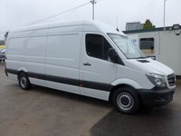 USED 2016 16 MERCEDES-BENZ SPRINTER 313 CDI LWB HI ROOF, 130 BHP [EURO 5], ELECTRIC PACK