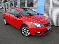 2015 SEAT IBIZA 1.4 TOCA 3d 85 BHP £6180.00