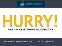 USED 2015 65 TOYOTA HI-LUX 2.5 ACTIVE 4X4 D-4D DCB 1d 142 BHP + HARD TOP
