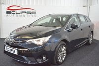 2017 TOYOTA AVENSIS 2.0 D-4D BUSINESS EDITION 5d 141 BHP £SOLD