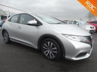 USED 2013 63 HONDA CIVIC 1.6 i-DTEC SE 5dr BLUETOOTH 2 OWNERS £0 ROAD TAX