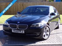 USED 2012 12 BMW 5 SERIES 2.0 520D EFFICIENTDYNAMICS 4d 181 BHP Absolutely Stunning Car Must Be Viewed!!!