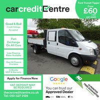 USED 2014 14 FORD TRANSIT 2.2 350 DRW 1d 124 BHP