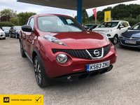 USED 2014 63 NISSAN JUKE 1.6 N-TEC 5d 115 BHP NEED FINANCE? WE CAN HELP!