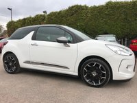 USED 2015 15 CITROEN DS3 1.2 PURETECH DSTYLE PLUS S/S 3d LOW TAX AND INSURANCE  NO DEPOSIT  PCP/HP FINANCE ARRANGED, APPLY HERE NOW
