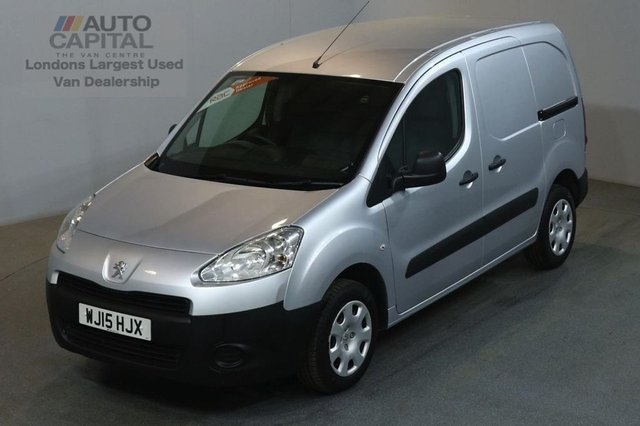 2015 15 PEUGEOT PARTNER 1.6 HDI SE L1 850 90 BHP SWB THREE SEATER VAN ONE OWNER / FULL S/HISTORY