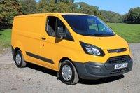 2014 FORD TRANSIT CUSTOM 2.2 310 LR P/V 1d 124 BHP £8000.00