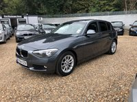 2014 BMW 1 SERIES 1.6 116D EFFICIENTDYNAMICS 5d 114 BHP £10250.00