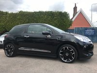 USED 2016 16 DS DS 3 1.6 BLUEHDI ELEGANCE S/S 3d  STILL WITH REMAINING CITROEN WARRANTY  NO DEPOSIT  PCP/HP FINANCE ARRANGED, APPLY HERE NOW