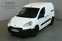 USED 2014 64 PEUGEOT PARTNER 1.6 HDI PROFESSIONAL L1 850 90 BHP AIR CON SWB VAN AIR CONDITIONING / ONE OWNER FULL S/H