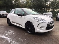USED 2013 13 CITROEN DS3 1.6 E-HDI DSTYLE PLUS 3d  WITH SERVICE HISTORY, BLUETOOTH AND AIR CON NO DEPOSIT  FINANCE ARRANGED, APPLY HERE NOW