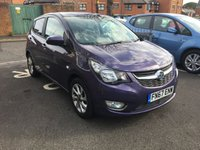 USED 2017 67 VAUXHALL VIVA 1.0 SL 5d AUTO 74 BHP AUTOMATIC , LOW CO2 EMISSIONS, £20 ROAD TAX, AND EXCELLENT FUEL ECONOMY!..09/2017 REGISTERED WITH VAUXHALL WARRANTY TO 14/09/2020! ONLY 11847 MILES WITH FULL VAUXHALL SERVICE HISTORY!  GOOD SPECIFICATION INCLUDING LEATHER , CRUISE CONTROL, CLIMATE CONTROL, AUXILLIARY/USB CONNECTION AND AIR CONDITIONING.