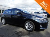 USED 2014 64 TOYOTA AURIS 1.6 V-Matic Icon 5dr LOW MILEAGE, FULL HISTORY