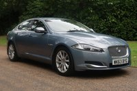 USED 2013 63 JAGUAR XF 2.2 D PREMIUM LUXURY 4d AUTO 200 BHP