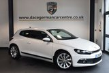USED 2014 14 VOLKSWAGEN SCIROCCO 2.0 GT TDI 2DR 175 BHP full service history + FULL SERVICE HISTORY + BLUETOOTH + AUTOMATIC AIR CONDITIONING + DAB RADIO + 17 INCH ALLOY WHEELS +