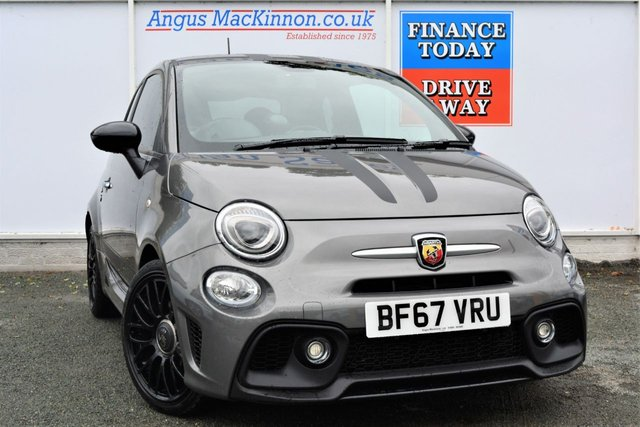 2017 J ABARTH 500 1.4 595 144 BHP Pocket Rocket 3dr Hatchback with Full Abarth Service History
